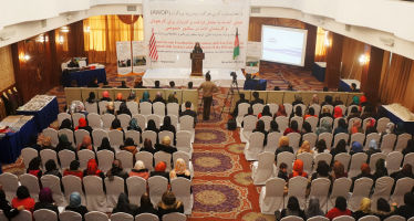 402 Afghan women compete demand-driven skills training program