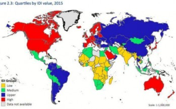 Afghanistan's internet quality ranks 156th among 167 countries