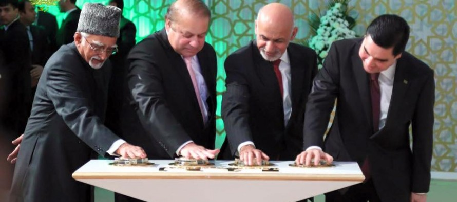 TAPI project plays a key role in stabilizing Afghan economy