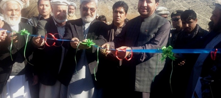 Maintenance Cash Grant Project starts in Laghman province