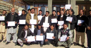 120 Afghan engineers enhance their skills for designing infrastructure projects