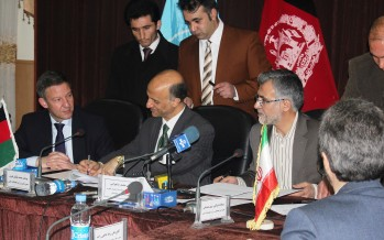 MoU signed to enhance cooperation in mining sector between Afg, Iran, Germany