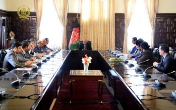 Afghan government committed to improving local products