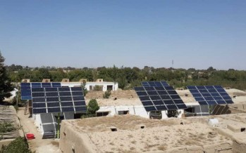 Solar powered hatchery in Balkh to increase poultry production
