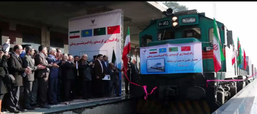 First 'Silk Road' train arrives in Iran from China bypassing Afghanistan