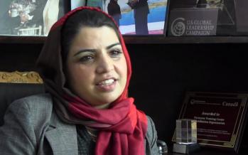 Afghan Woman Entrepreneur- Kamila Sediqi
