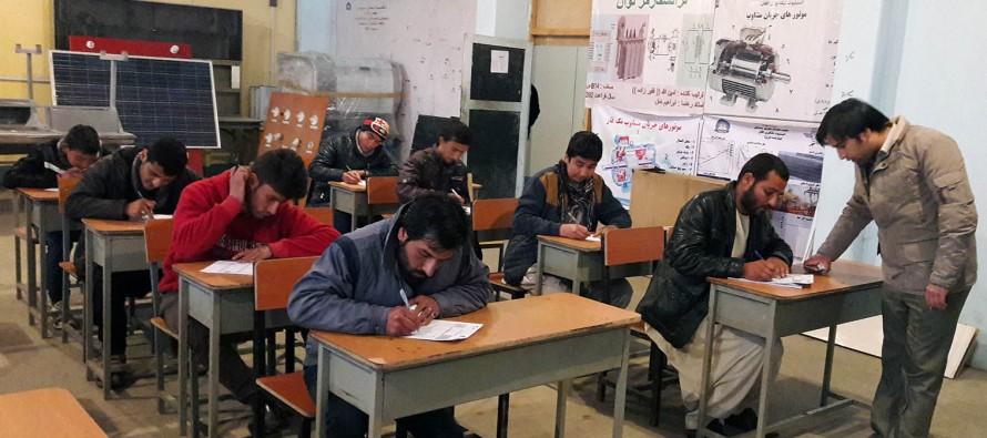 Vocational training institutes open in Kabul, Mazar, Herat