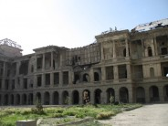 Ghani inaugurates reconstruction of a historic palace in Kabul today