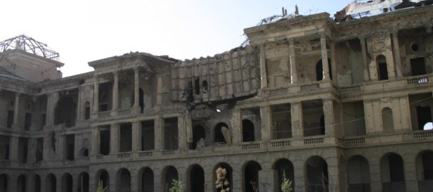President Ghani approves restoration work of Dar-ul-Aman Palace