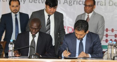 Afghanistan receives $6mn in loan for agriculture development