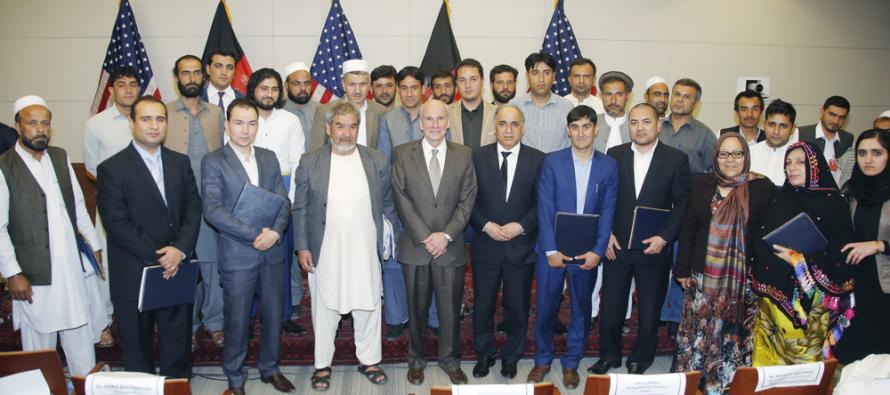 USAID recognizes 40 Afghan entrepreneurs