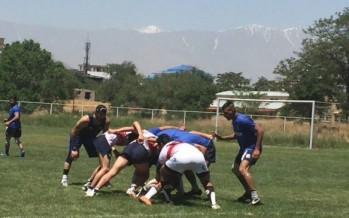 Rugby club opens inside Kabul University campus