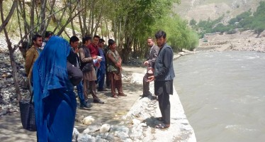 Engineers in northern Afghanistan complete training on Maintaining Irrigation and Flood Protection System