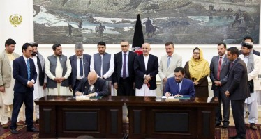 Contract for construction of Bakhshabad dam signed