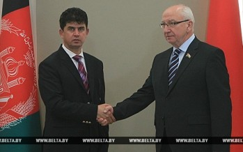 Belarus calls for more economic cooperation between Afghanistan & Eurasian Economic Union