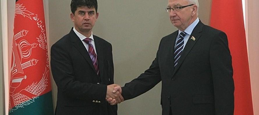Belarus calls for more economic cooperation between Afghanistan & Eurasian Economic Union