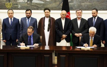 DABS, ADB sign contract for 300MW Doshi-Bamiyan transmission line