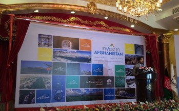 "New initiative ""Invest in Afghanistan"" launched  today"