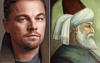 Leonardo DiCaprio to play the role of Jalaluddin Rumi