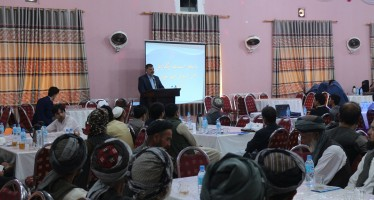 First-ever public hearing discusses development projects in Balkh's Khulm district