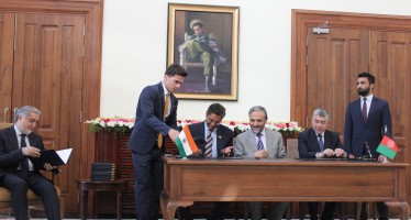 Afghanistan, India sign MoU on 87 projects worth $25 million