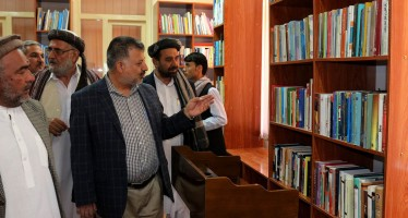 A public library opened in Balkh