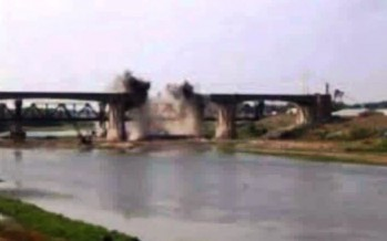 Kunduz's main bridge destroyed by  Taliban soon to be reconstructed