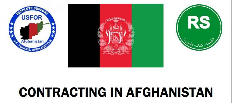 Resolute Support updates its Contracting in Afghanistan Guidelines