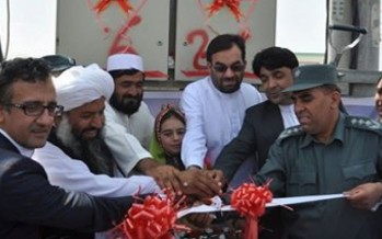 Power transmission line inaugurated in Deh Sabz