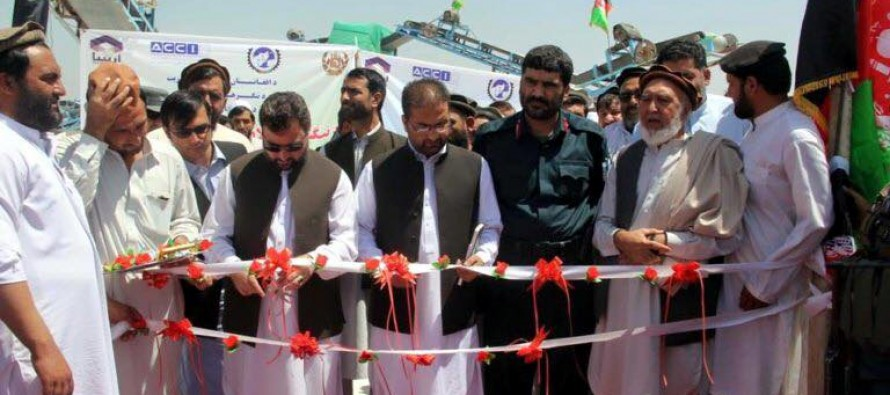 4 marble processing plants inaugurated in Nangarhar province