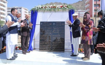 $94.3mn housing project inaugurated in Kabul