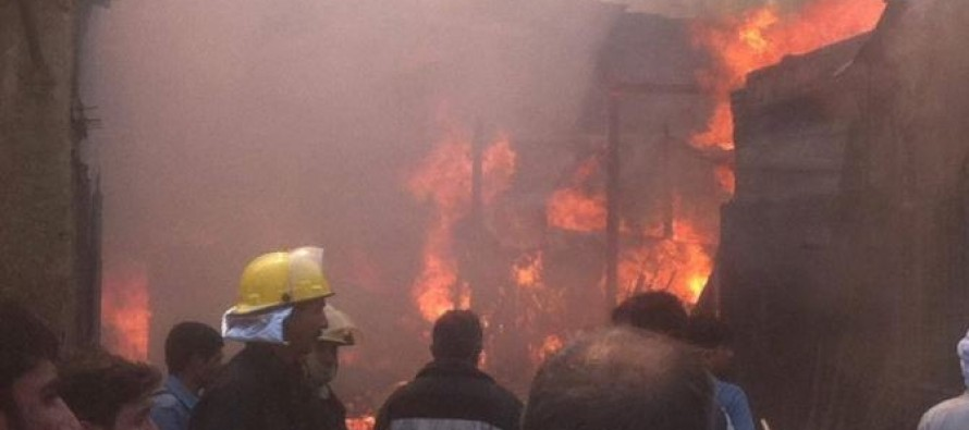 Fire incident in Kabul inflicts millions of dollars of losses on Afghan traders