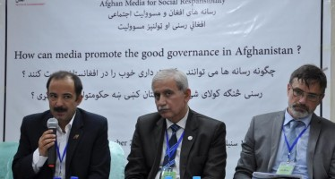 Media plays a key role in promoting good governance in Afghanistan