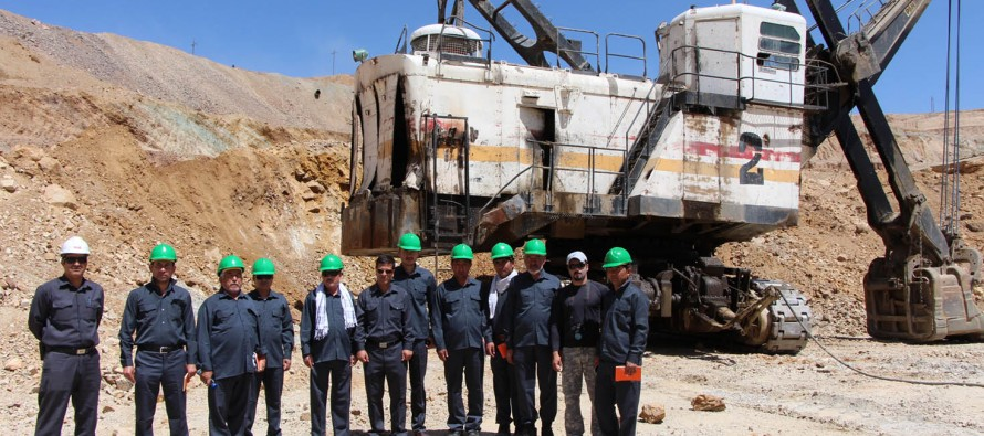 Afghan mining inspectors receive training in Iran