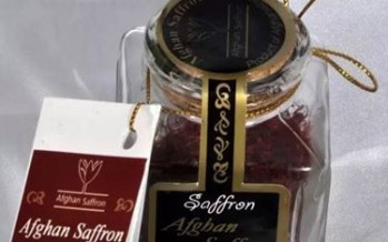 Afghan saffron ranked first for 3rd consecutive year