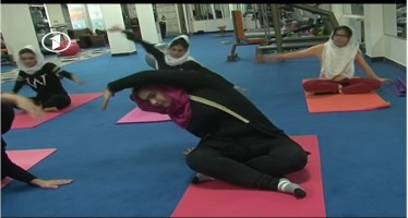 First yoga center for Afghan women opens in Kabul