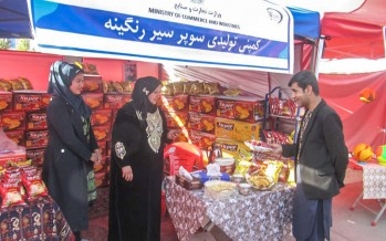 Women's handicrafts exhibition kicks off in Kabul