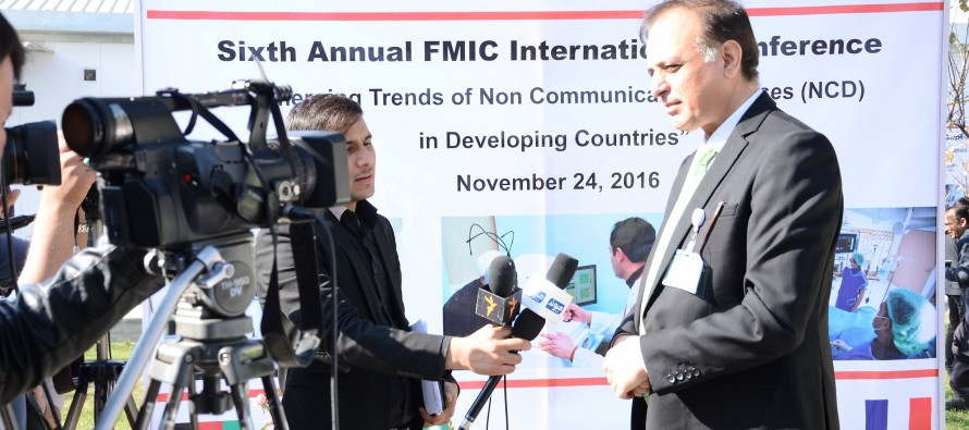 FMIC raises awareness on non-communicable diseases in Afghanistan