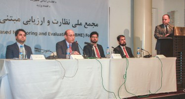 Over 200 experts from all over Afghanistan attend M&E forum in Kabul