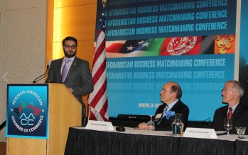 Afghanistan more conducive for business today: Ambassador Mohib