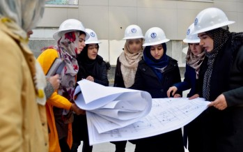 8 Afghan women graduate from USAID's Engineering and Architecture Internship program