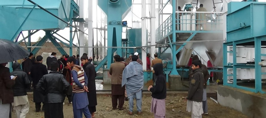 First-ever rice mill inaugurated in Nangarhar