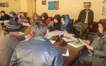 "Workshop on ""Landmark Resolution on Women, Peace and Security"" held in Badakhshan"