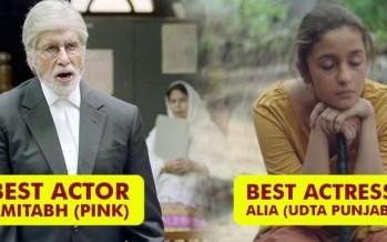 Zee Cine Awards 2017 complete winners list