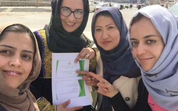Afghan Women's Chamber of Commerce and Industries to be established soon