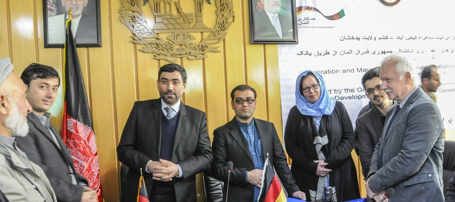 Repairing of new roads in Feyzabad, Badakhshan benefit 1.2mn residents
