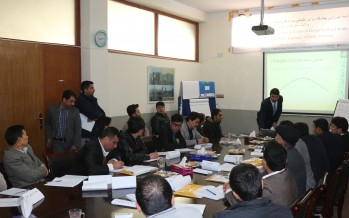 134 Afghan engineers receive training on designing and surveying construction projects