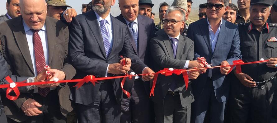 German funded Kunduz-Khum Highway project inaugurated