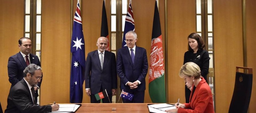 Australia, Afghanistan sign $320mn development agreement
