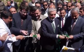 Foundation for Afghanistan's first grapes & raisins processing factory laid in Parwan